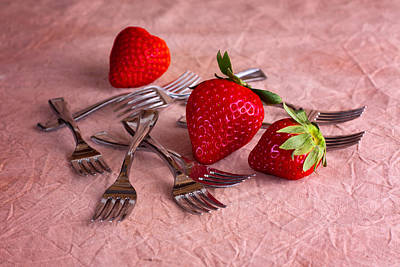 Strawberry Photograph - Strawberry Delight by Tom Mc Nemar
