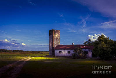 Silos Photograph - Strawberry Fields Delight by Marvin Spates