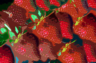 Strawberry Fields Forever Art Print by David Lee Thompson