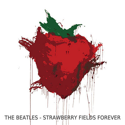 Strawberry Fields Forever  Art Print by Koichi Endo