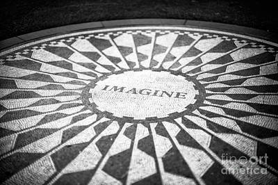 Photograph - Strawberry Fields In Central Park by John Rizzuto