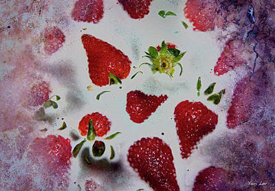 Spot Of Tea Royalty Free Images - Strawberry Heaven Royalty-Free Image by Yuri Lev