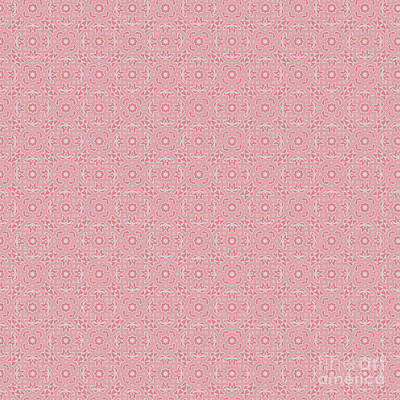 Digital Art - Strawberry Ice Spring Design by Clare Bambers