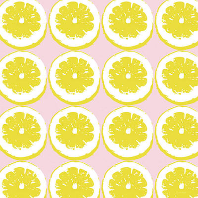 Strawberry Lemonade- Art By Linda Woods Art Print