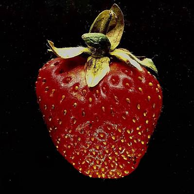 Photograph - Strawberry by Michael Canning
