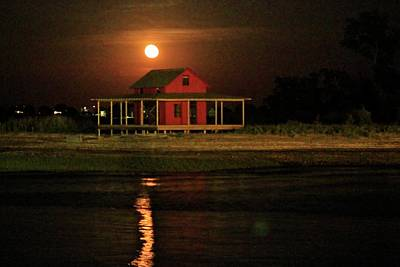 Photograph - Strawberry Moon by Catie Canetti