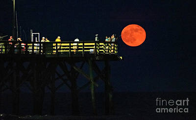 Photograph - Strawberry Moon by DJA Images