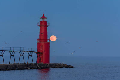 Photograph - Strawberry Moon by Patti Raine
