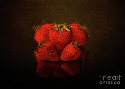 Photograph - Strawberry Reflections by Mechala Matthews