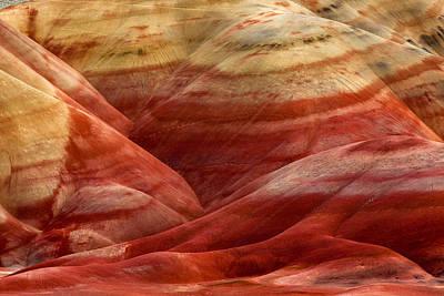 Strawberry Swirls Art Print by Thorsten Scheuermann