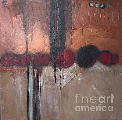 Painting - Streak by Marlene Burns