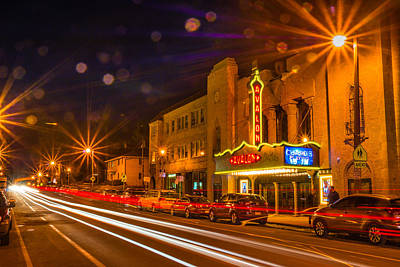 Photograph - Streaking Past The Avalon by Bill Pevlor