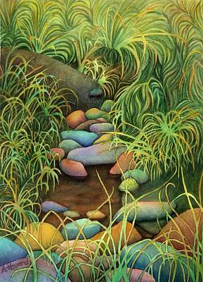 Painting - Stream by Anne Havard