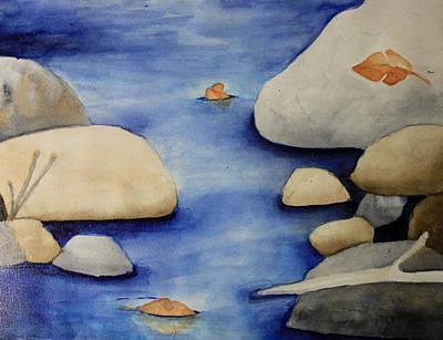 Painting - Stream by April Burton