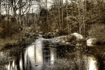 Art Print featuring the photograph Stream I by Greg DeBeck