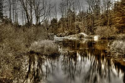Art Print featuring the photograph Stream II by Greg DeBeck