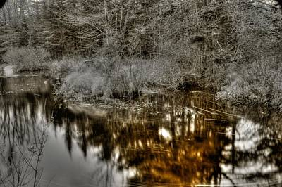 Art Print featuring the photograph Stream IIi by Greg DeBeck
