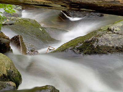 Green Movement Photograph - Stream In Motion by Jim DeLillo