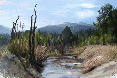 Painting - Stream by Ivana Westin