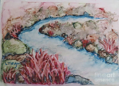 Painting - Stream Of Dreams by Laurie Morgan