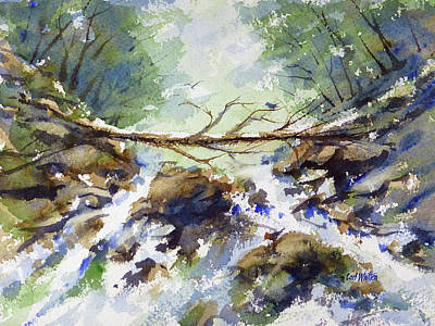 Painting - Stream Of Life by Carl Whitten