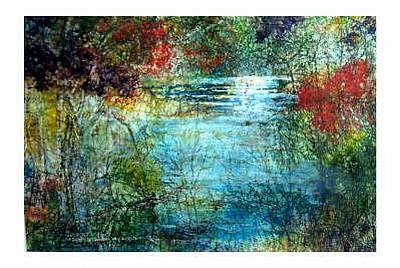 Painting - Stream Of Light by Charlotte Bailey Rierson