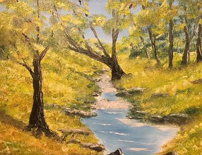 Painting - Stream Origins by David Bartsch