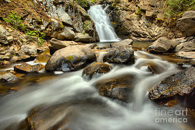 Photograph - Streaming Below Falls Creek Falls by Adam Jewell