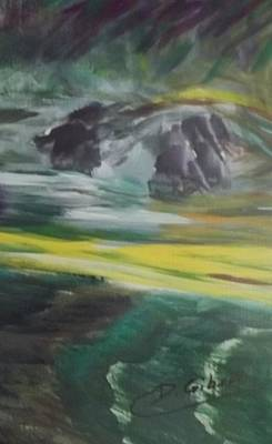 Painting - Streaming by Dianne Scheerer Gibson