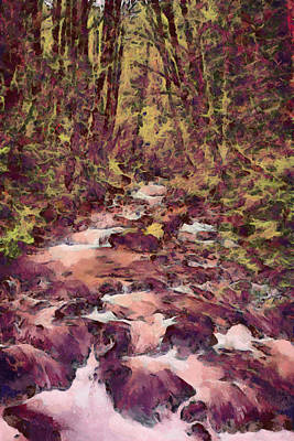 Mixed Media - Streaming by John Winner