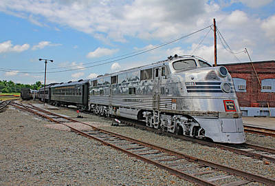 Photograph - Streamliners At Spencer C B Q 9911 Color by Joseph C Hinson Photography
