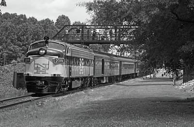Photograph - Streamliners At Spencer N H 2019 B W 50 by Joseph C Hinson Photography