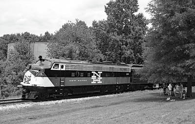 Photograph - Streamliners At Spencer N H 2019 B W 55 by Joseph C Hinson Photography