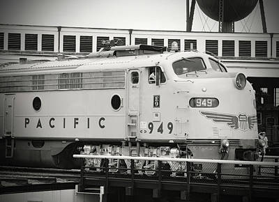 Photograph - Streamliners At Spencer U P 949 B W 1 by Joseph C Hinson Photography