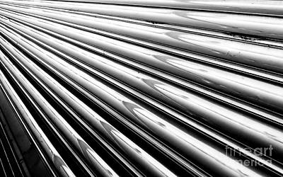 Photograph - Streamlines Bw by Tim Richards