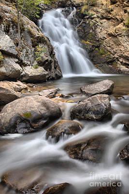 Photograph - Streams Below Falls Creek Falls by Adam Jewell