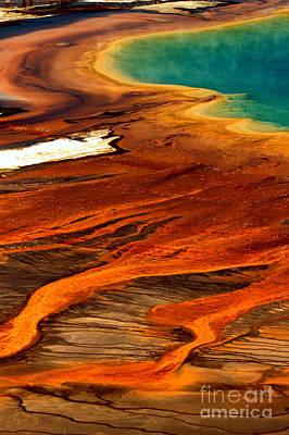 Photograph - Streams Of Algae Mats by Adam Jewell
