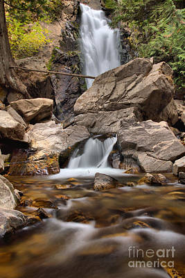 Photograph - Streams Of Falls Creek Falls by Adam Jewell