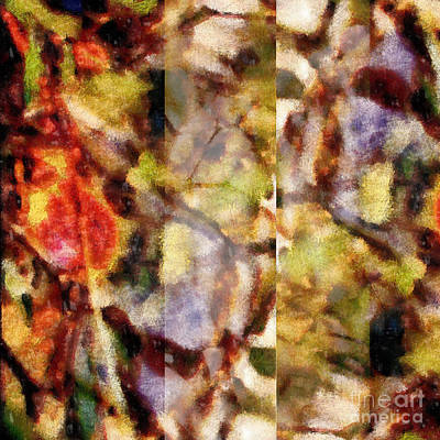 Colorful Abstract Photograph - Streams Of Reflection  by Edward Fielding