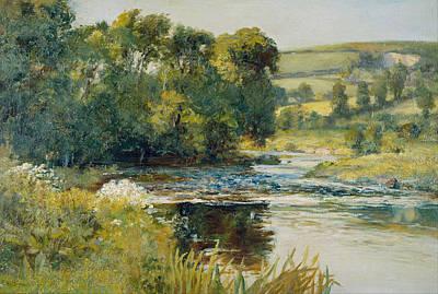 Streamside Art Print by Edward Mitchell Bannister