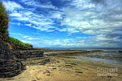 Kim Digital Art - Streedagh Beach by Kim Shatwell-Irishphotographer