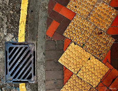 Photograph - Street Abstract by Joe Bonita