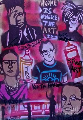 Street Art 101 Original by Tony B Conscious