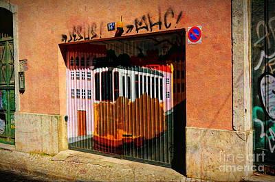 Photograph - Street Art In Lisbon by Sue Melvin