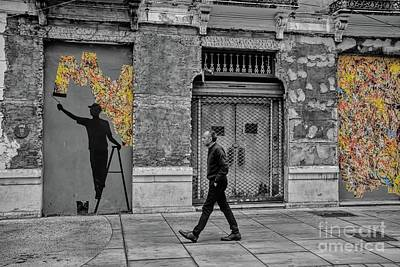 Photograph - Street Art In Malaga Spain by Henry Kowalski