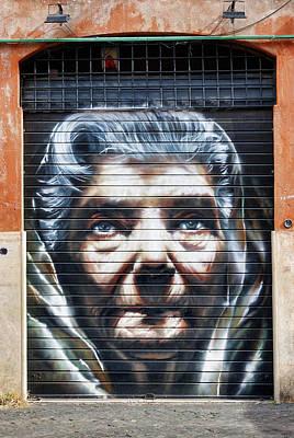 Photograph - Street Art In The Trastevere Neighborhood Of Rome Italy by Richard Rosenshein