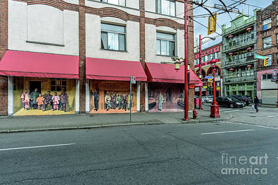 Advertising Archives - Street art in Vancouver at the E Pender and Columbia Street. by Viktor Birkus