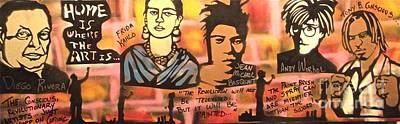 Street Art Lives Art Print