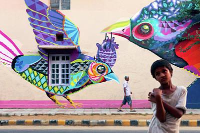 Photograph - Street Art by Marji Lang