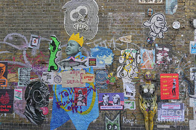 Photograph - Street Art On Brick Lane In London by Patricia Hofmeester